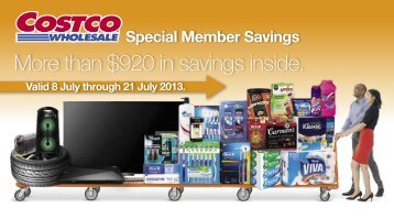 More than $920 in savings inside. - Addicted To Costco!