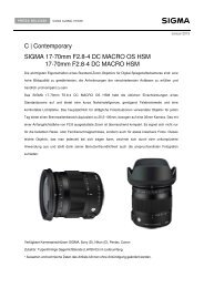 C | Contemporary SIGMA 17-70mm F2.8-4 DC MACRO OS ... - Saturn