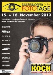 15. + 16. November 2013 - Hifi & Foto Koch GmbH