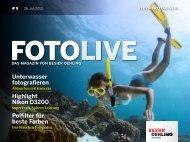 Unterwasser fotografieren Highlight Nikon D3200 Polfilter für beste ...