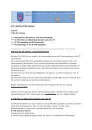 HTTV-NEWSLETTER 04-2011 click-TT Infos für Vereine ...