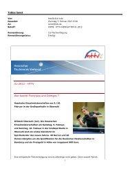 HTTV-Newsletter 01-2013