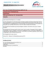 2012-1 HTTV Aktuelle Schiedsrichter Information
