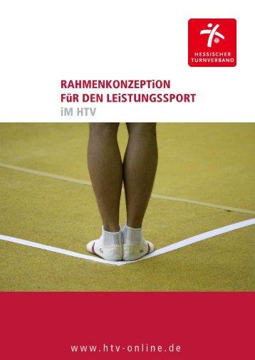 Rahmenkonzeption Leistungssport - Hessischer Turnverband