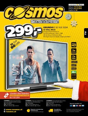TV GRUNDIG | 32 VLE 5324 - ekz-weinland.at: Startseite