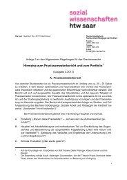 Regelungen zum Portfolio (Ausgabe 4/2013)
