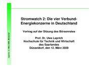 Leprich Boersenrat 12. Maerz 2009 - an der Hochschule für Technik ...