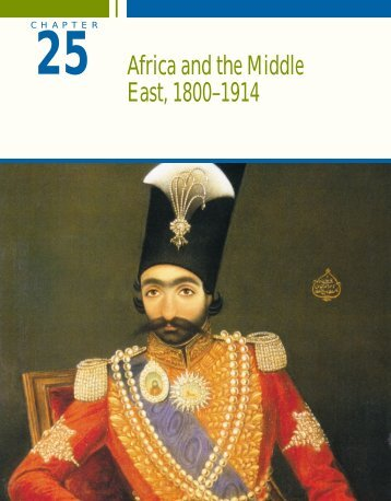 Africa and the Middle East, 1800
