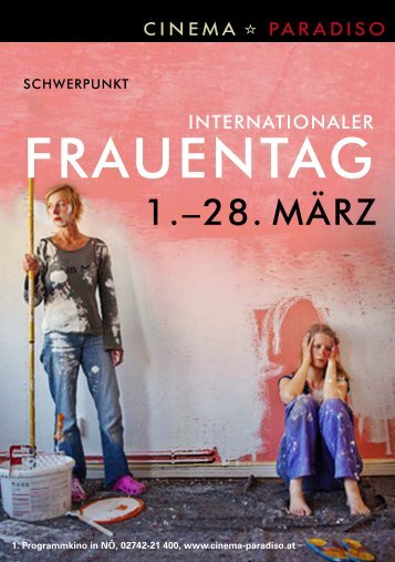 Internationalen Frauentag - Cinema Paradiso