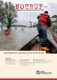 Spendenaufruf - Hochwasser in Deutschland (PDF) - Aktion ...