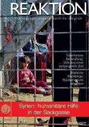 syrien: humanitäre Hilfe in der sackgasse - Médecins Sans ...