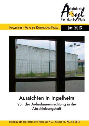 Infodienst Nr. 96 v. Juni 2013 - Arbeitskreis Asyl Rheinland-Pfalz