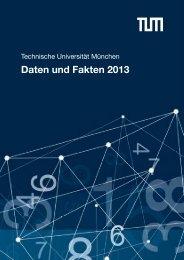 Daten und Fakten 2013 - TUM