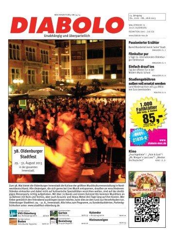 1.000 38. Oldenburger Stadtfest - DIABOLO / Mox