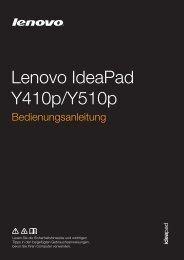 Y410p&Y510p UG GR - Lenovo