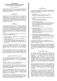 Verordnung - HU Berlin