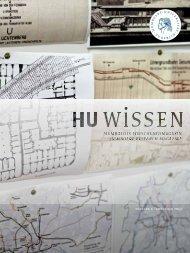 hu wissen 4 (pdf) - Humboldt-Universität zu Berlin