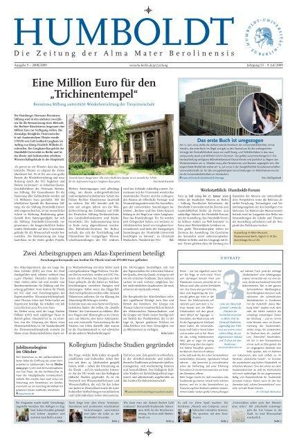 Deutschen - Humboldt-Universität zu Berlin
