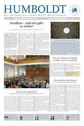 Ausgabe 1 2012/2013 - Humboldt-Universität zu Berlin
