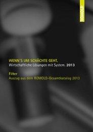 Katalog Filter 2013 - Romold