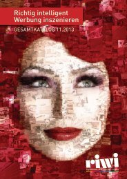 riwi Gesamtkatalog 11.2013 (ca. 24 MB) - riwi Online