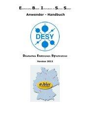 Anwender - Handbuch - Warenwirtschaft / Einkauf - Desy