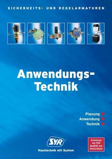 Katalog Anwendungstechnik 2013 - Syr