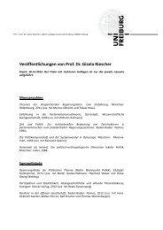 Veröffentlichungen von Prof. Dr. Gisela Riescher - Albert-Ludwigs ...