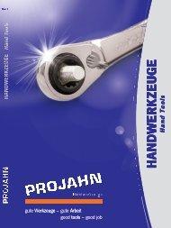 Katalog Handwerkzeuge - Projahn