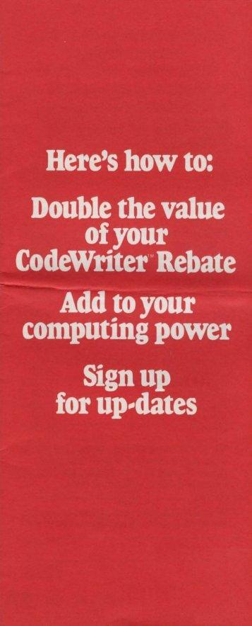codewriter-regcard