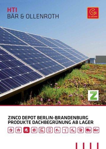 ZINCO Depot Berlin - HTI
