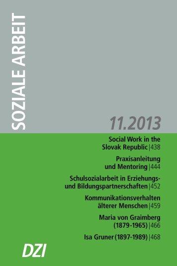 Isa Gruner - Deutsches Zentralinstitut für soziale Fragen