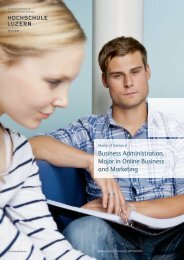 Business Administration, Major in Online Business and Marketing