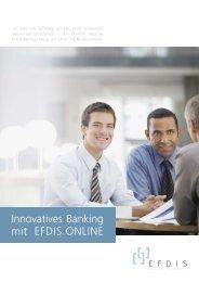 Broschüre Online Banking - Final 2013-04-18 v4 - EFDIS AG