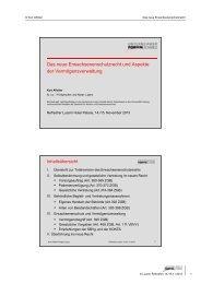 Das neue Erwachsenenschutzrecht und Aspekte der ... - Kurt Affolter