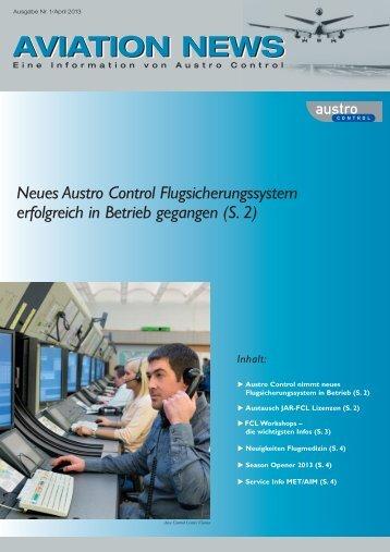uAustausch JAR-FCL Lizenzen - Austro Control