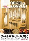 28.02.2010, 17.00 Uhr Heilig Geist - Kirche Stegersbach eintritt frei!. - Seite 2