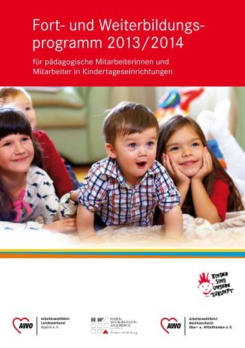 programm 2013/2014 - AWO Landesverband Bayern