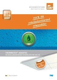 100% RH schallabsorbierend abwaschbar - Knauf AMF GmbH & Co ...