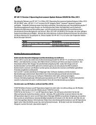 HP-UX 11i Version 3 Operating Environment Update Release ...