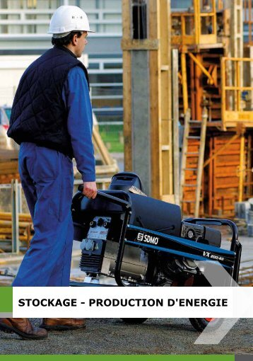 STOCKAGE - PRODUCTION D'ENERGIE