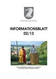 Informationsblatt zur Gemeindeversammlung - Gemeinde Gampelen