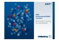 ARD-DeutschlandTrend [pdf] - Tagesschau.de