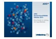 ARD-DeutschlandTrend | pdf - Tagesschau.de