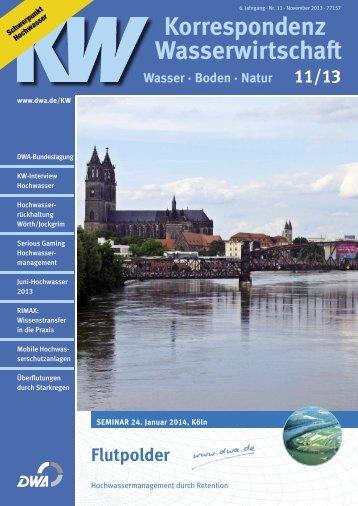 Korrespondenz Wasserwirtschaft - DWA
