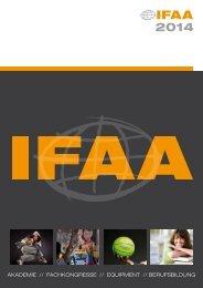 Jahreskatalog 2014 als PDF - IFAA