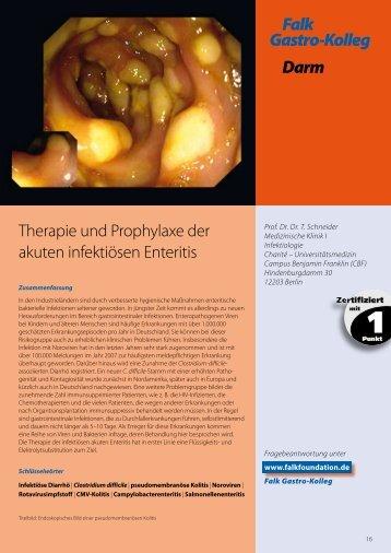 Falk Gastro-Kolleg Darm - Dr. Falk Pharma GmbH