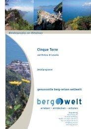Cinque Terre - Berg-Welt