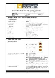 SICHERHEITSDATENBLATT gemäß Verordnung (EG) Nr. 1907 ...