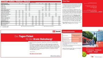Das Tages-Ticket für den Kreis Heinsberg! - AVV